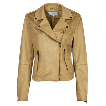 material Women Leather jackets / Imitation leather Vila VIFADDY Camel