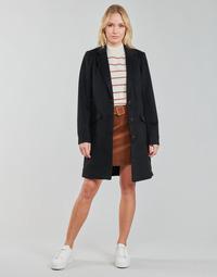 material Women coats Vila VILEOVITA Black