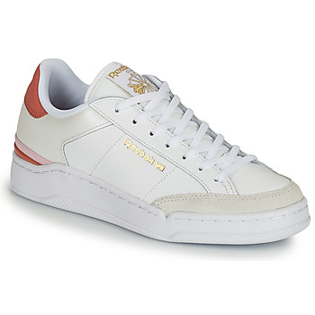 Shoes Women Low top trainers Reebok Classic AD COURT White / Orange