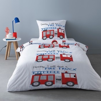 Home Bed linen Mylittleplace FREDDY White