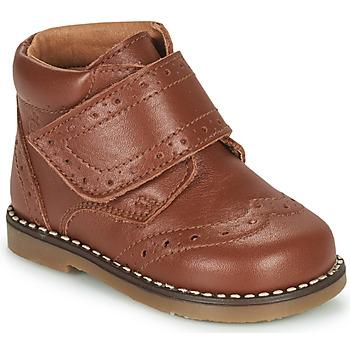 Shoes Boy Mid boots Citrouille et Compagnie PROYAL Camel