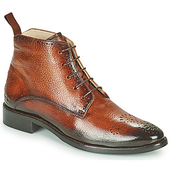 Shoes Women Mid boots Melvin & Hamilton BETTY4 Brown
