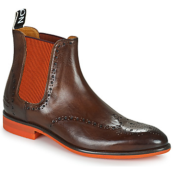 Shoes Men Mid boots Melvin & Hamilton BOBBY 8 Brown