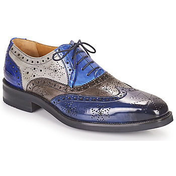 Shoes Men Derby shoes Melvin & Hamilton JEFF 28 Blue