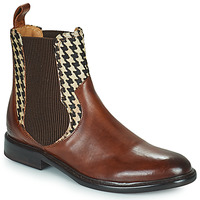 Shoes Women Mid boots Melvin & Hamilton SALLY 113 Brown