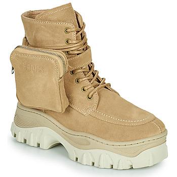 Shoes Women Mid boots Bronx JAXSTAR MID Beige