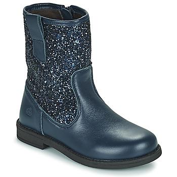 Shoes Girl Mid boots Citrouille et Compagnie JUCKER Blue