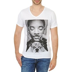 material Men short-sleeved t-shirts Eleven Paris WOLY M White