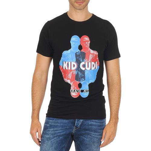 material Men short-sleeved t-shirts Eleven Paris KIDC M Black
