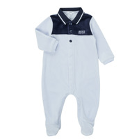 material Boy Sleepsuits BOSS FILOMENA Blue