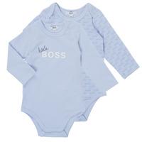 material Boy Sleepsuits BOSS SEPTINA Blue