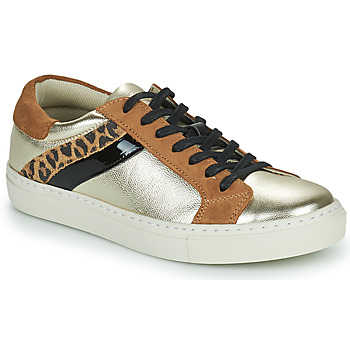 Shoes Women Low top trainers Betty London PITINETTE Gold