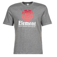 material Men short-sleeved t-shirts Element VERTICAL SS Grey