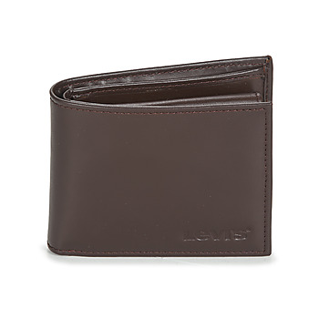 Bags Wallets Levi's LEVIS WORDMARK BIFOLD WITH COIN POCKET Brown