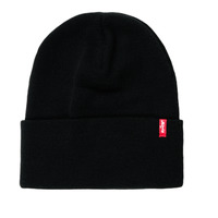 Accessorie hats Levi's SLOUCHY RED TAB BEANIE Regular /  black