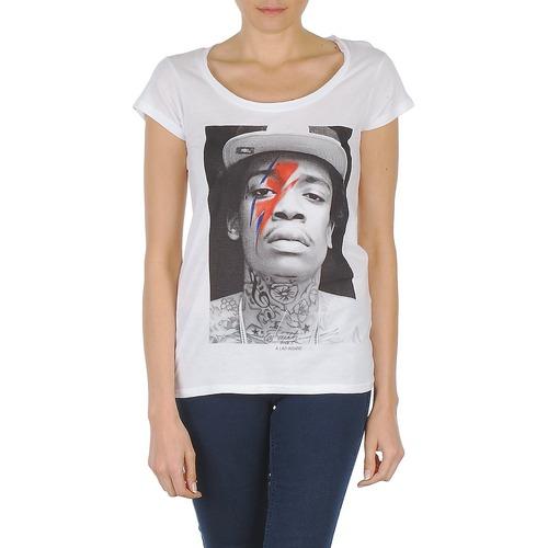 material Women short-sleeved t-shirts Eleven Paris KALIFA W White