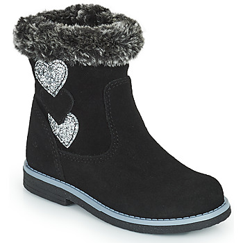 Shoes Girl Boots Citrouille et Compagnie PARAVA Black