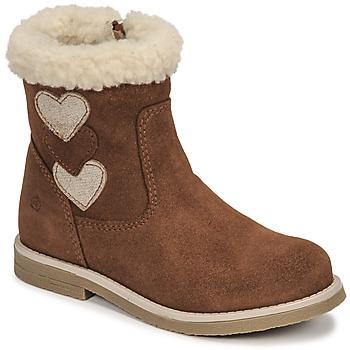 Shoes Girl Boots Citrouille et Compagnie PARAVA Camel
