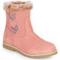 Shoes Girl Boots Citrouille et Compagnie PARAVA Pink