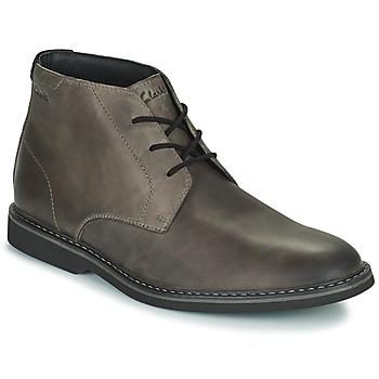 Shoes Men Mid boots Clarks ATTICUSLT MID Grey