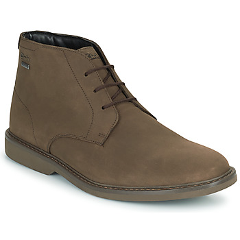Shoes Men Mid boots Clarks ATTICUSLTHIGTX Brown