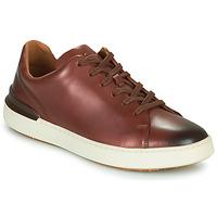 Shoes Men Derby shoes Clarks COURTLITE LACE Brown