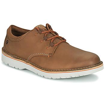 Shoes Men Derby shoes Clarks EASTFORD LOW Camel