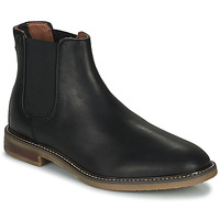 Shoes Men Mid boots Clarks JAXEN CHELSEA Black
