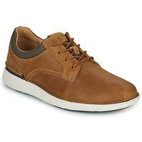 Shoes Men Derby shoes Clarks LARVIK TIE Camel