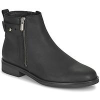Shoes Women Mid boots Clarks MEMI LO Black