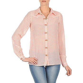 material Women Shirts Manoush CHEMISE ML ALIZE Pink