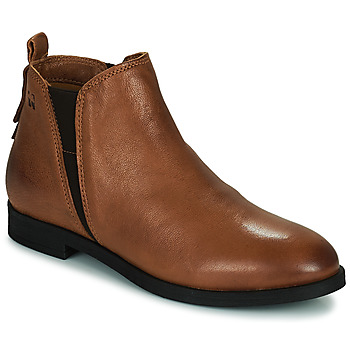Shoes Women Mid boots Dream in Green LIMIDISI Tan