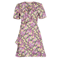 material Women Short Dresses Moony Mood OHLALA Violet