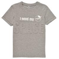 material Boy short-sleeved t-shirts Name it NKMNASA HAMPUS SS TOP NAS Grey