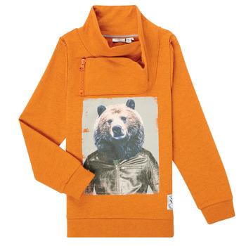 material Boy sweaters Name it NKMKUVAU LS SWE Orange