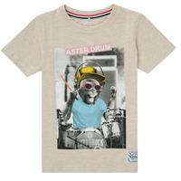 material Boy short-sleeved t-shirts Name it NKMFAKI SS TOP White