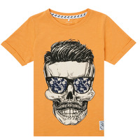 material Boy short-sleeved t-shirts Name it NKMKSOYTAN SS TOP Yellow