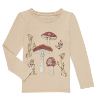 material Girl Long sleeved shirts Name it NMFTHUMPER ALFRIDA LS TOP White