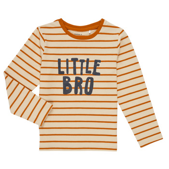 material Boy Long sleeved shirts Name it NMMLANE LS TOP Multicolour