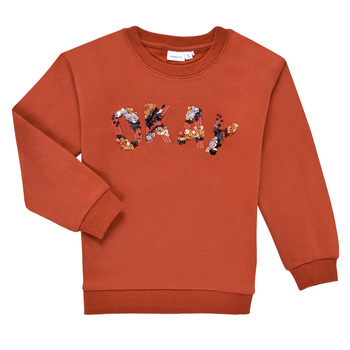 material Girl sweaters Name it NKFOCALI LS SWEAT Red