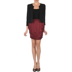 material Women Skirts Lola JOVI ESTATE Bordeaux