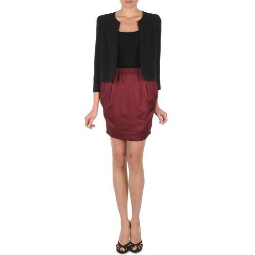 material Women Skirts Lola JOVI ESTATE Bordeaux