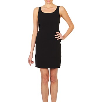 material Women Short Dresses Lola RITZ DOPPIO Black