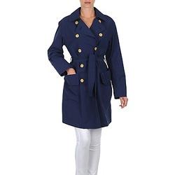 material Women Trench coats Lola MALIN VENTO Marine