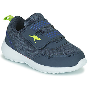Shoes Boy Low top trainers Kangaroos KY-TINKLE V Blue / Green