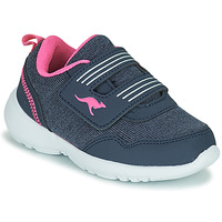 Shoes Girl Low top trainers Kangaroos KY-TINKLE V Blue / Pink