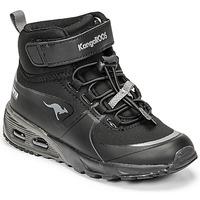 Shoes Boy High top trainers Kangaroos KX-HYDRO Black