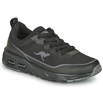 Shoes Boy Low top trainers Kangaroos KX-3500 Black