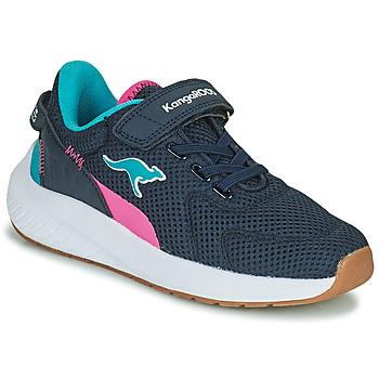 Shoes Girl Low top trainers Kangaroos K-FORT JAG EV Blue