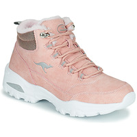 Shoes Women High top trainers Kangaroos KW-COZY Pink